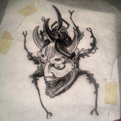 rhinoceros beetle tattoo - Google Search