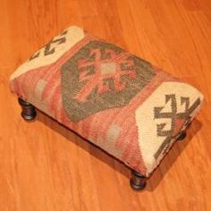 @Overstock.com - Update your home decor with a beautiful kilim upholstered footstool. This handmade item is a unique piece of world art to enhance any living space.http://www.overstock.com/Worldstock-Fair-Trade/Handmade-Kilim-Rectangular-Footstool-India/6459053/product.html?CID=214117 $129.99