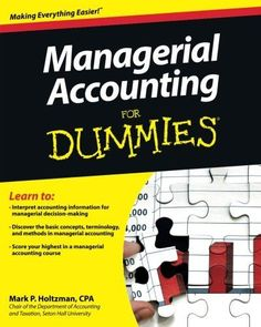 Download intermediate accounting for dummies ebook free by maire managerial accounting for dummies malvernweather Choice Image