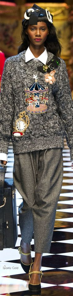 DOLCE GABANNA FALL 2O16 READY TO WEAR
