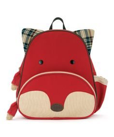 Skip Hop Zoo Pack Little Kids   Toddler Backpack Fox 2c7ad3e9719e8