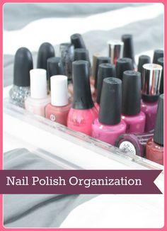 nail polish organiza