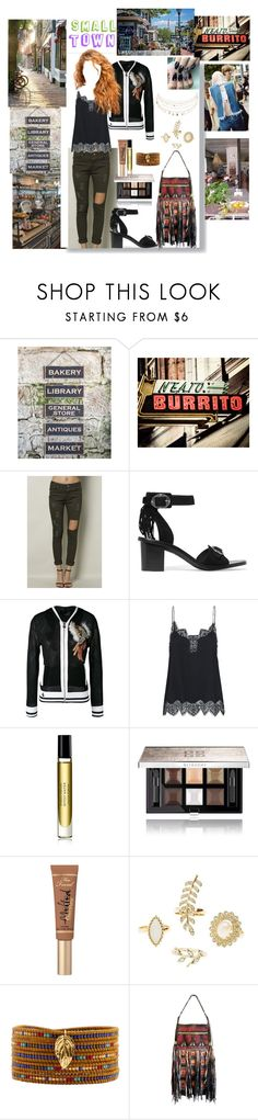 """""""small town"""" by aliceridler ❤ liked on Polyvore featuring Ragon House, Ash, Philipp Plein, Byredo, Givenchy, Too Faced Cosmetics, Charlotte Russe, Chan Luu, love and friends"""