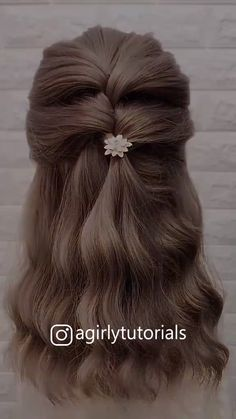 Cute Hairstyles For Women 2020 Part 10 - Haare Stylen Step By Step Hairstyles, Easy Hairstyles For Long Hair, Diy Hairstyles, Hairstyle Tutorials, Hairstyle Ideas, Hairstyles Medium Length Hair, Hairstyle For Women, Scrunchy Hairstyles, Wedding Hairstyles For Short Hair