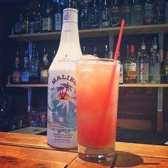 Malibu Bay Breeze Cocktail ★
