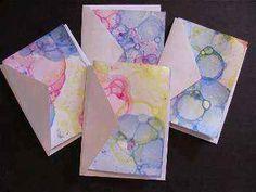 Técnicas plásticas creativas: Pintamos con burbujas de colores