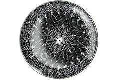 S/2 Hairpin Hanging Glass Trays on OneKingsLane.com