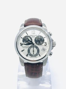Buy *CERTINA DS PODIUM CHRONOGRAPH* RETAIL R14000for R3,600.00 Paper Watch, Cluster Ring, Gold Flowers, Bracelet Sizes, Ds, Chronograph, Gift Guide, Watches For Men, Quartz