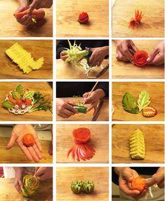 Die 11 Besten Bilder Von Essen Schnitzen Creative Food Food Art