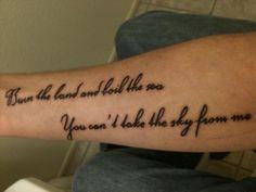 #tattoo Firefly Serenity