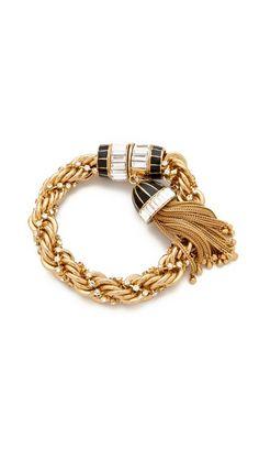 Rachel Zoe Tassel Bracelet. Click for more info or to buy.