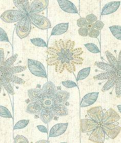 Kerala Flower Jade wallpaper by Albany