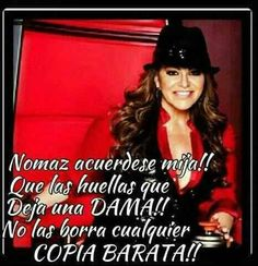Miss u diva :( Words Of Wisdom Quotes, Me Quotes, Funny Quotes, Qoutes, Boss Bitch Quotes, Badass Quotes, Jenny Rivera Quotes, Jeny Rivera, Romantic Humor