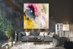 Large Modern Wall Art Painting,Large Abstract wall art,acrylics paintings,abstract originals,bathroom wall art FY0017