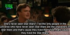 this is one of the many reasons i love how i met your mother<3