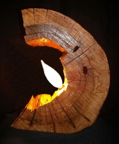 Oak from an old dead tree. Wood (has three coats of clear satin varnish for life long protection)