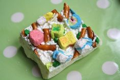 Leprechaun Crunch Candy - a quick treat for St. Patrick's Day