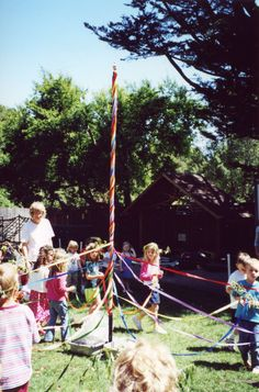 May Day /Beltane May pole INSTRUCTIONS  Dance Around a Maypole for May Day - Slow Family Online