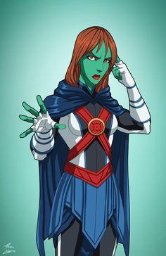 Miss Martian (Earth-27) commission by phil-cho.deviantart.com on @DeviantArt - More at https://pinterest.com/supergirlsart/