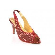 Women Evening Heeled Sandals