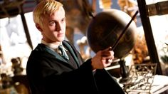 16. Draco Malfoy- Played by: Tom Felton