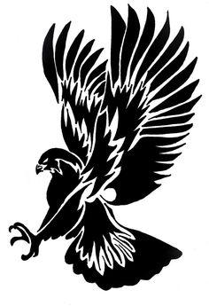 Free image/jpeg, Resolution: File size: Tribal Hawk Tattoo darwing picture with tags: Tribal Hawk Crow Tattoo Design, Tattoo Designs, Eagle Tattoos, Tribal Tattoos, Art Sketches, Art Drawings, Tribal Drawings, Molduras Vintage, Hawk Tattoo