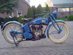 1920 V-twin Excelsior Motorcycle