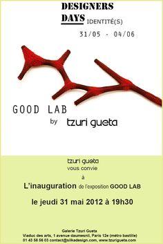 Tzuri Gueta - Designers Days - 31 Mai-4 Juin 2012 - Paris