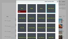 select overlay effect - گالری عکس حرفه ای در وردپرس