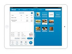 Revel Systems - Tablet POS checkout screen