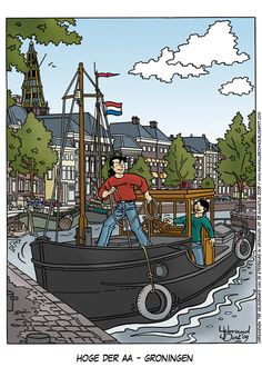 IJsbrand Oost - Strips en illustraties: Prenten