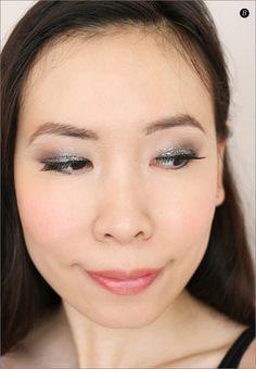 Asian Smokey Glitter Eye Makeup using Stila Cosmetics Stila Cosmetics, Glitter Eye Makeup, Toronto, Events, Asian, Beauty, Happenings, Beleza, Sparkly Eye Makeup