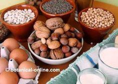 Alimentos muy ricos en vitamina B