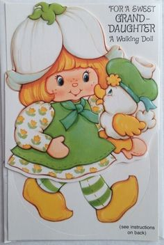 Strawberry Shortcake Greeting Cards - Family Birthday Cards @ Toy-Addict.com