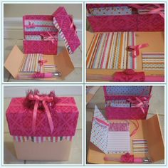 Handmade Paper Boxes | Handmade Stationary Box/Set - PAPER CRAFTS, SCRAPBOOKING & ATCs ...