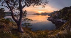 Sunset cove by Dag Ole Nordhaug on 500px