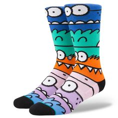 Monster Mash  | Kevin Lyons Collection | Stance socks | M545C17MON | Motorface Webstore #kevinlyons #monsterparty