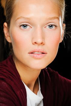 barely there make up...very natural look