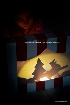 Make Shadow Puppet cookie / willowday