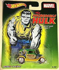"The Incredible Hulk A-Ok MOMC ""The Strangest Man Of All Time"" Marvel Pop Culture…"