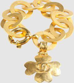 Vintage CHANEL Bracelets #vintage #vintagechanel #chanel #chanelbeacelet Vintage Earrings, Vintage Jewelry, Chanel Bracelet, Handbags Online, Chanel Handbags, Vintage Chanel, Bracelets, Accessories, Women