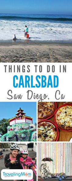 Looking for things to do in Carlsbad California? This itinerary will give you a taste of San Diego from LEGOLAND to the beach. - Travel San Diego - Ideas of Travel San Diego Carlsbad San Diego, Carlsbad Beach, Carlsbad Camping, Oceanside California, Carlsbad California, Southern California, San Diego Vacation, San Diego Travel, Legoland California