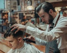 Great shot of #barber @originalcabalheiro in action. #savillsbarbershop Photo by @iaredom