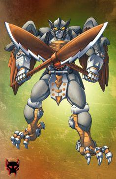 Beast Wars Silverbolt by Dan-the-artguy.deviantart.com on @deviantART