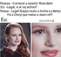 Riverdale Netflix, Riverdale Funny, Riverdale Memes, Hbo Series, Best Series, Series Movies, Memes Br, Top Memes, Pretty Little Liars