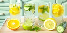 Morning RX - Drinking Lemon Water In The Morning. BENEFITS: Lemon water can help cure acne. Lemon water helps you lose weight. Lemon water helps with GERD. Citrus Water, Drinking Lemon Water, Infused Water, Cucumber Water, Water Infusion, Fruit Water, Fruit Juice, Fresh Fruit, Bebidas Detox