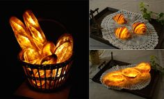 Lampshades by Yukiko Morita