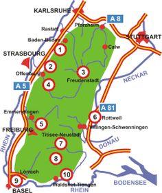 Spass- und Erlebnisbäder im Schwarzwald