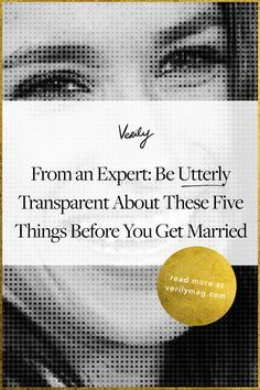 You know that transparency is key for any marriage to succeed. Here are 5 questions to ask before you get engaged.