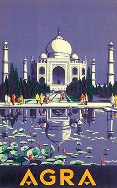 Taj-Mahal. Inde